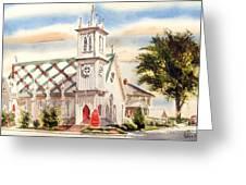 St. Pauls Episcopal Church II Greeting Card by Kip DeVore
