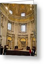 St Peter's Cathedral Greeting Card by Cliff C Morris Jr