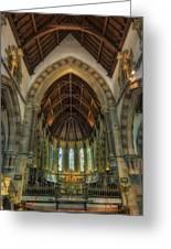 St Peter's Church Vertorama Greeting Card by Ian Mitchell