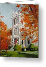 St Peters Episcopal Church Greeting Card by Susan E Jones