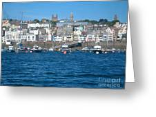 St Peters Port Guernsey  Greeting Card by Phyllis Kaltenbach