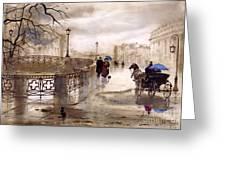 St. Petersburg Greeting Card by Svetlana and Sabir Gadghievs