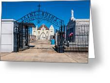 St Roch's Cemetery Greeting Card by Steve Harrington