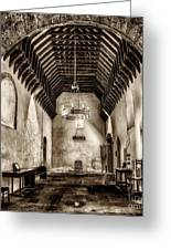 St Seirio Church Greeting Card by Adrian Evans