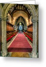 St Twrog Church Greeting Card by Adrian Evans