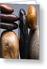 Stacked Stones 4 Greeting Card by Steve Gadomski