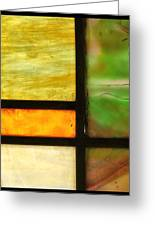 Stained Glass 5 Greeting Card by Tom Druin