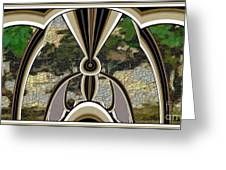 Stained Glass Collage Sgc1 Greeting Card by Pemaro