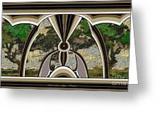 Stained Glass Collage Sgc2 Greeting Card by Pemaro