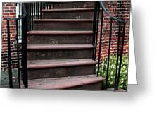 Staircase Greeting Card by John Rizzuto