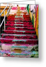 Stairs Greeting Card by Angela Wright