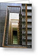 Stairs Greeting Card by Ausra Paulauskaite