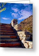 Stairway To Greeting Card by Glenn McCarthy Art and Photography
