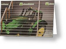 Stairway To John Deere Heaven Greeting Card by Janice Rae Pariza