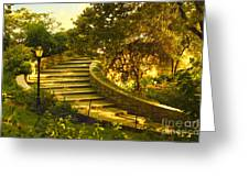 Stairway To Nirvana Greeting Card by Madeline Ellis