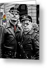 Standing Proud With Pride Greeting Card by Max CALLENDER