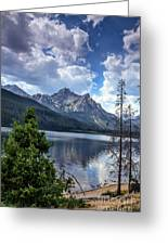 Stanley Lake View Greeting Card by Robert Bales