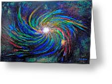 Star Birth Greeting Card by Michael Durst