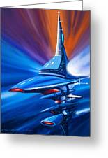 Star Drive Greeting Card by James Christopher Hill