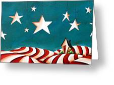 Star Spangled Greeting Card by Cindy Thornton