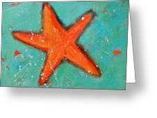 Starfish Greeting Card by Patricia Awapara
