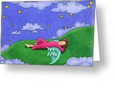 Stargazer Greeting Card by Sarah Batalka