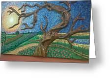 Stark Tree. Greeting Card by Geetanjali Kapoor