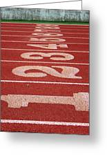 Starting Line Greeting Card by Shoal Hollingsworth