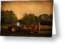 Starting Over - Vintage Country Art Greeting Card by Jordan Blackstone