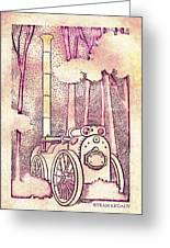 Steam Legacy Greeting Card by Patricia Howitt