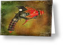 Steampunk - Gun - Electric Raygun Greeting Card by Paul Ward