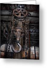 Steampunk - Industrial Strength Greeting Card by Mike Savad