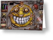 Steampunk - The Joy Of Technology Greeting Card by Mike Savad