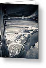 Steinway Greeting Card by Carrie Cole