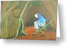 Stellar Jay Begins His Journey...will You Follow? Greeting Card by Gilbert Bernhardt