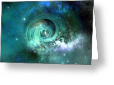 Stellar Matter Greeting Card by Corey Ford