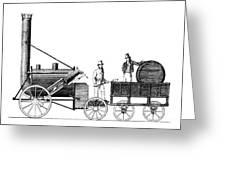 Stephensons Rocket 1829 Greeting Card by Science Source