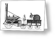 Stephensons Rocket 1829 Greeting Card by Science Source