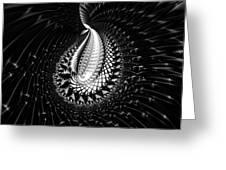 Sterling Silver Greeting Card by Renee Trenholm