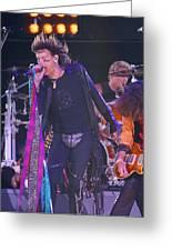 Steven Tyler Aerosmith Greeting Card by Don Olea