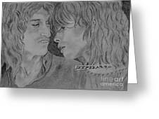 Steven Tyler And Joe Perry Image Pictures Greeting Card by Jeepee Aero
