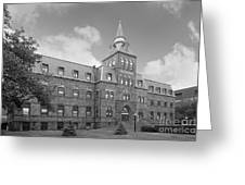 Stevens Institute Of Technology Stevens Hall Greeting Card by University Icons