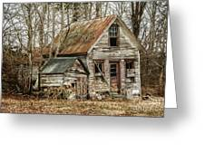 Still Standing Greeting Card by Terry Rowe