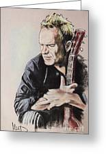 Sting Greeting Card by Melanie D