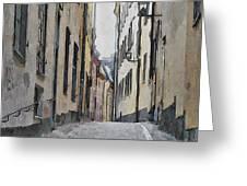 Stockholm 13 Greeting Card by Yury Malkov