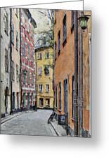 Stockholm 15 Greeting Card by Yury Malkov