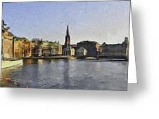Stockholm 7 Greeting Card by Yury Malkov