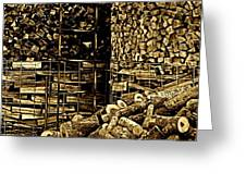 Stockpile  Greeting Card by Chris Berry