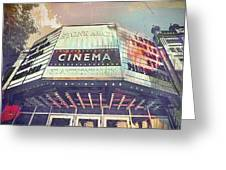 Stone Arch Cinema Greeting Card by Susan Stone
