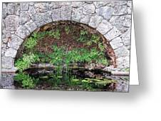 Stone Arch Greeting Card by Rudy Umans